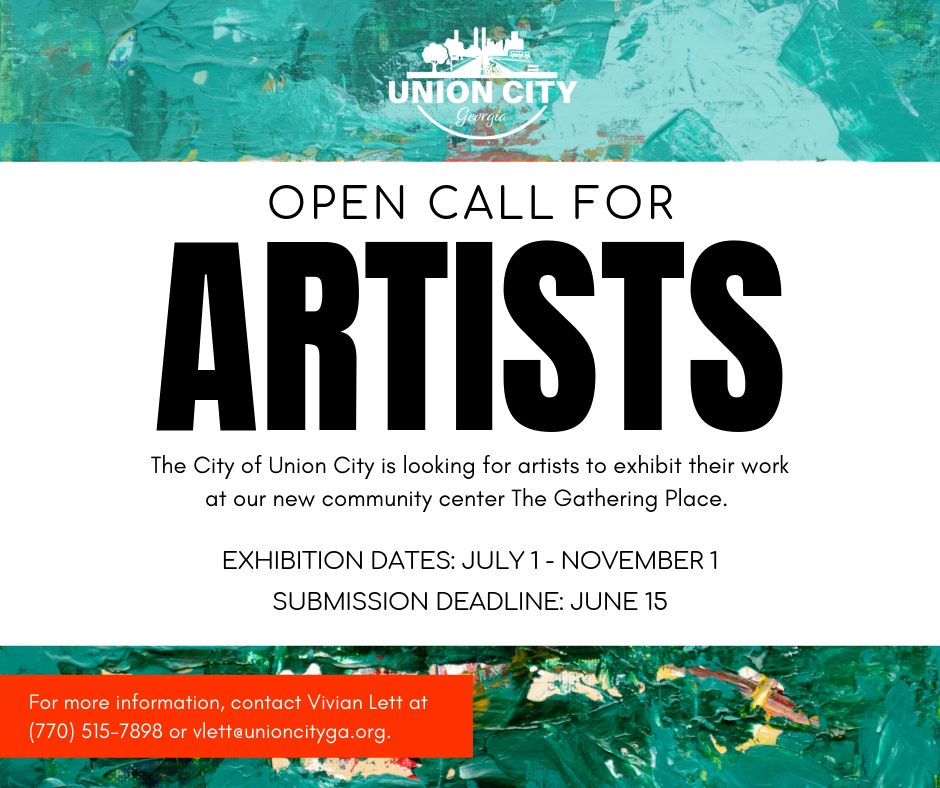 Union City Conducts Open Call for Artists