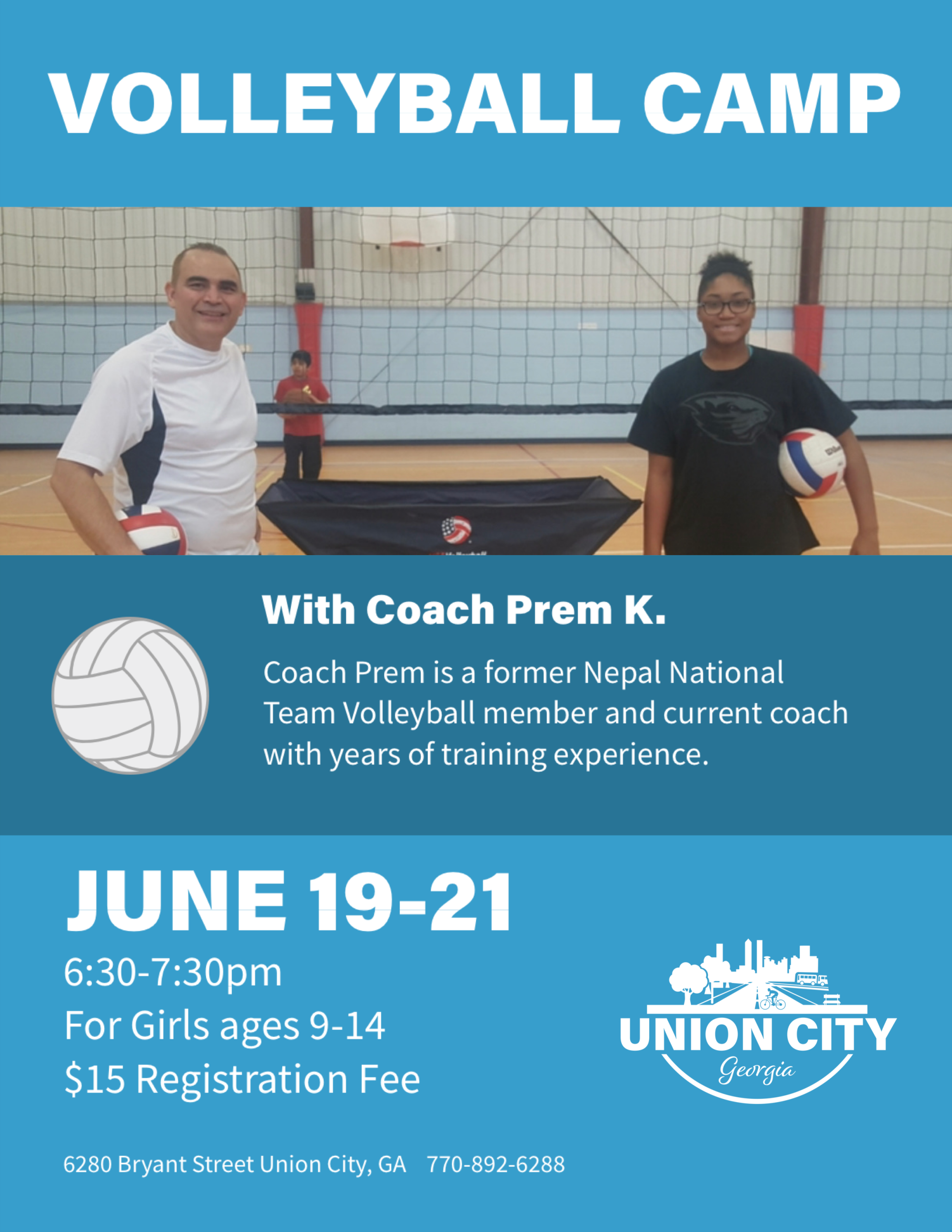 UC Volleyball Camp