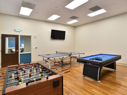 UC Gathering Place Game Room