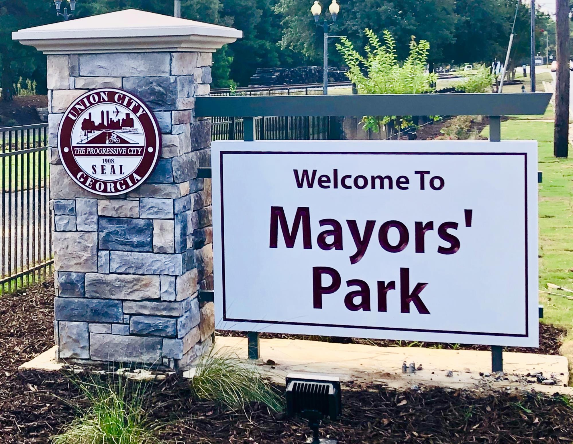 UNION CITY CELEBRATES GRAND  RE-OPENING OF MAYORS' PARK