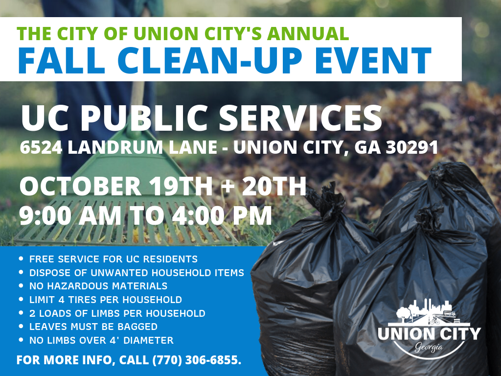 Public Services to Host Annual Clean-Up Event