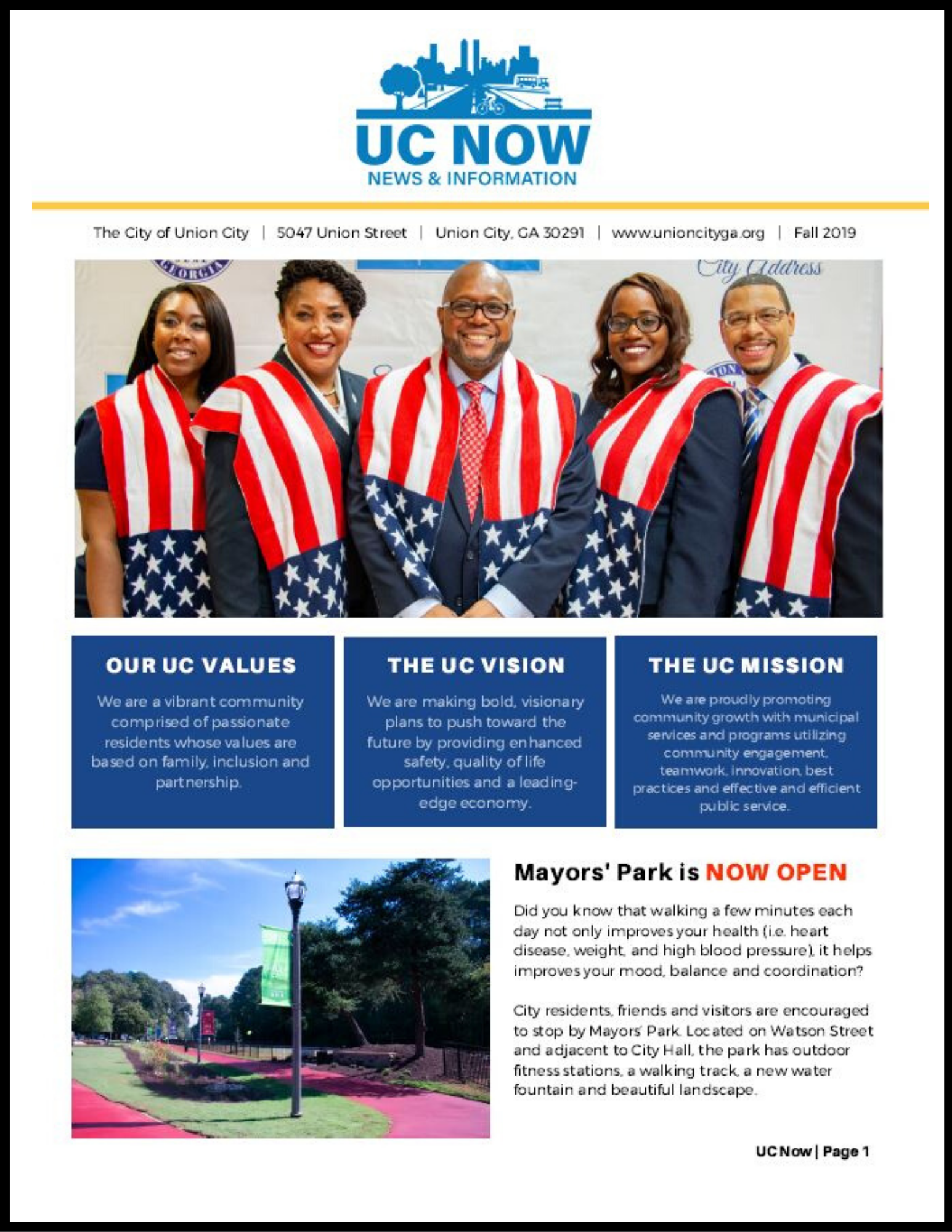 FA-2019 UC Now Newsletter