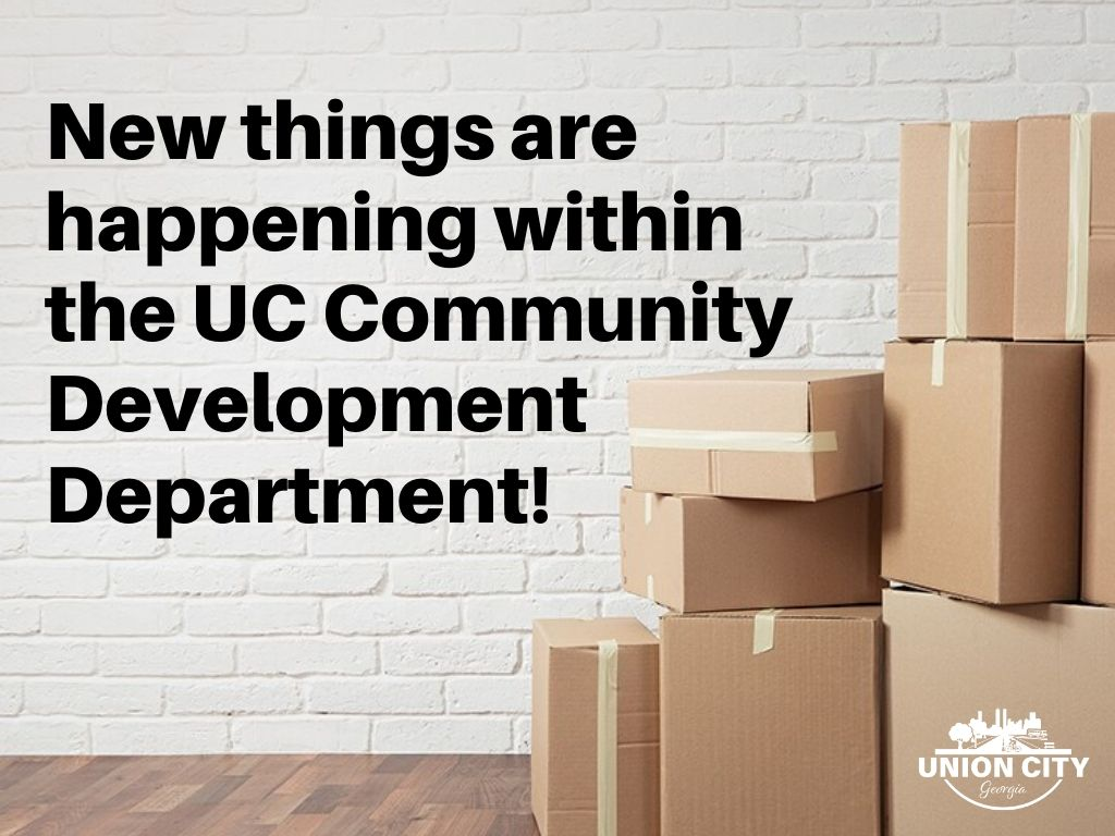 Exciting News from Community Development