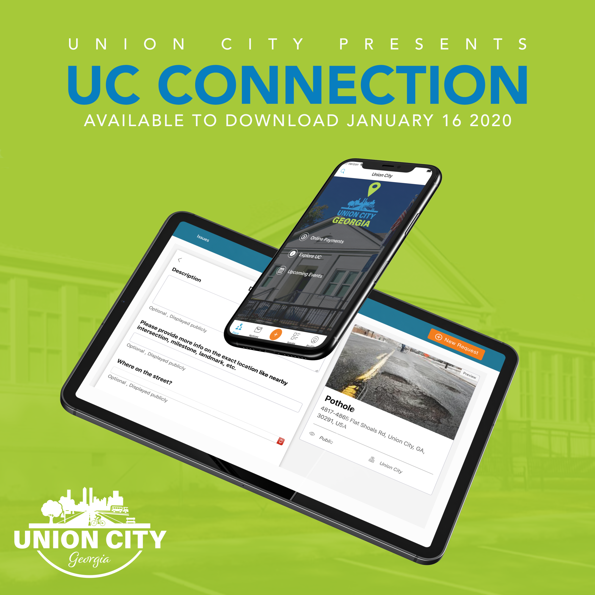Union City Connection Available to Download January 16 2020.