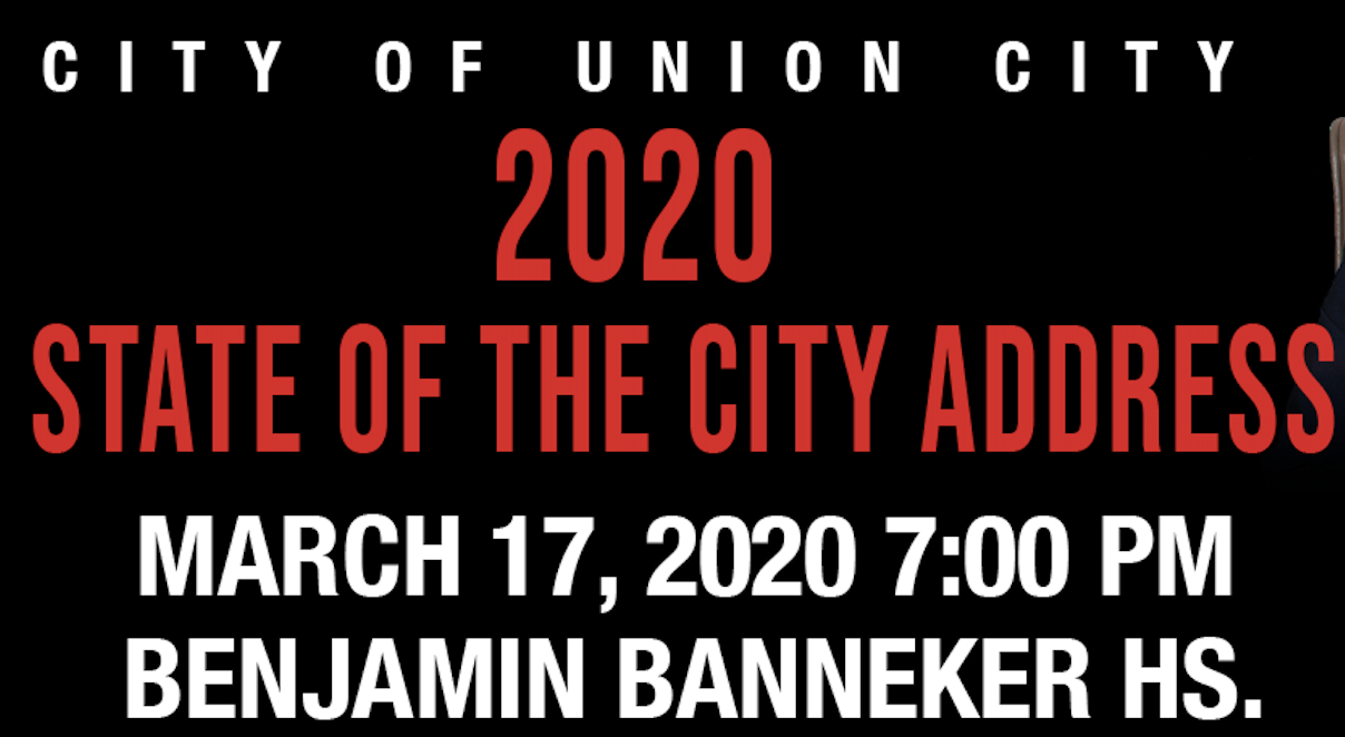 Save the Date! 2020 State of the City Address