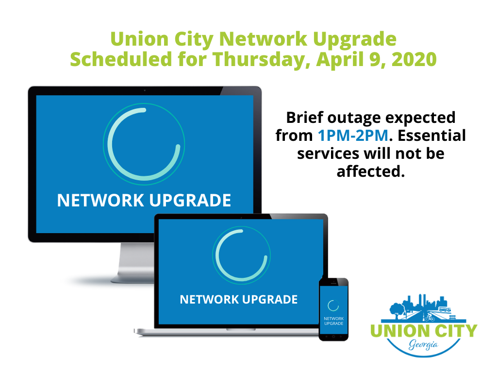 APRIL 9-NETWORK UPGRADE