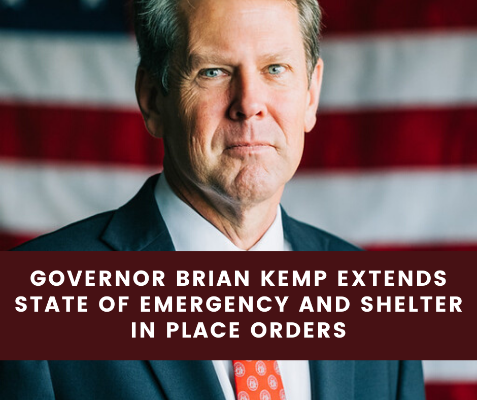 APRIL 9-GOV KEMP EXTENDS ORDERS