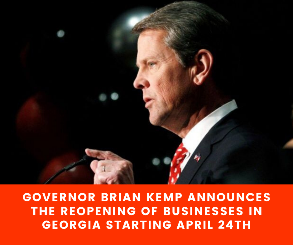 Gov. Kemp Reopens State